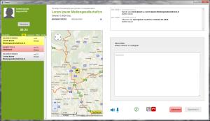 A callcenter application in GreenJ