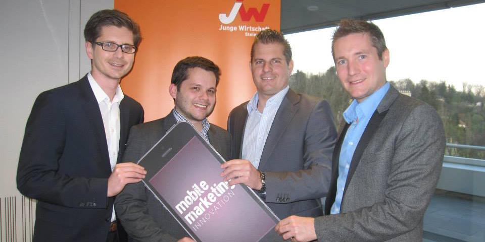 Michael Wildling, Werner Aschenbrenner, Harald Winkelhofer und Josef Mantl